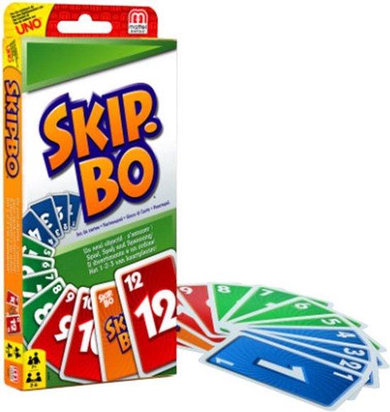 skip bo spelletje spelletjes spellen kaartspel 2 personen twee