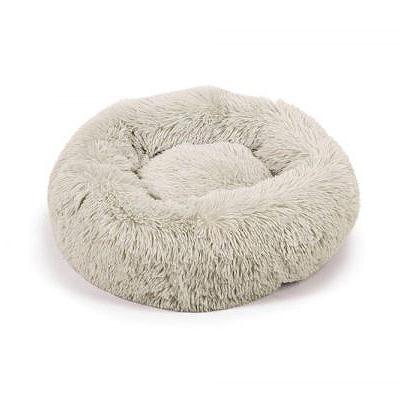 beeztees fluffy hondenmand hond hondenmanden kussen donut zacht plush