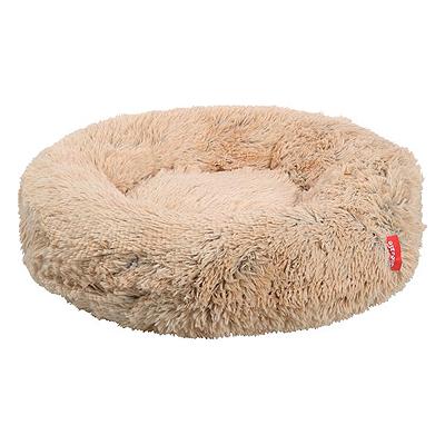 snoozle hondenmand milano zacht plush fluffy hondendonut donut donutmand kussen