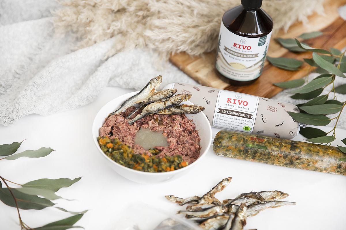 groentemix groenterol groenterolletje groente hond groenten honden vlees KVV vers voer aanvullen kivo van pom bio bokashi diepvries bevroren vers gekookt